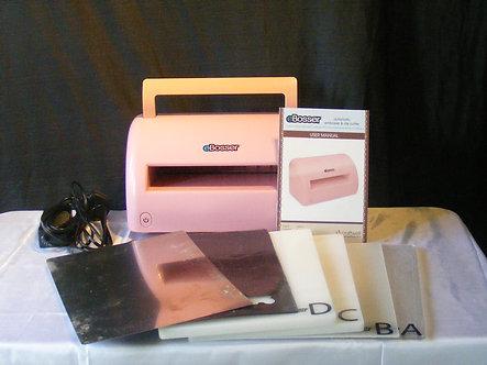 Craftwell - Pink Ebosser Die-Cutting Machine