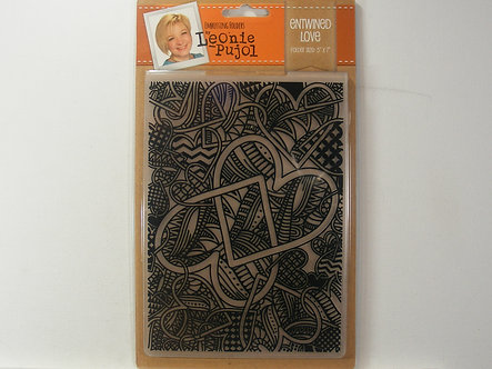 Leonie Pujol - Entwined Love Embossing Folder