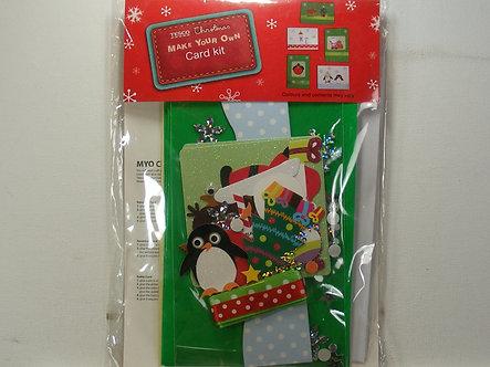 Tesco - Make Your Own Christmas Card Kit