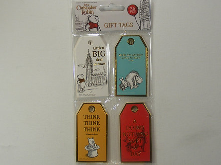 Disney's - Christopher Robin Gift Tags.