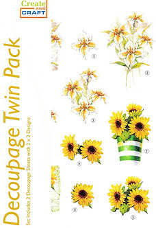 Create And Craft - Decoupage Twin Pack