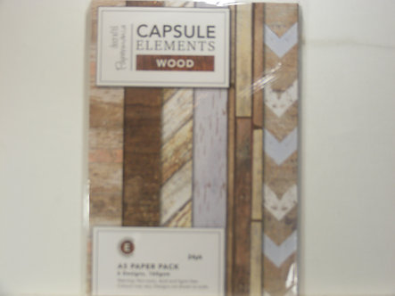 Dovecraft - Capsule Elements Wood Paper Pack