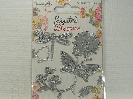 Dovecrafts - Painted Blooms Metal Dies