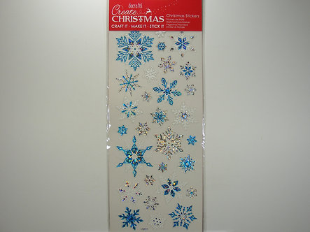 Docrafts - Create Christmas - Snowflake Stickers.