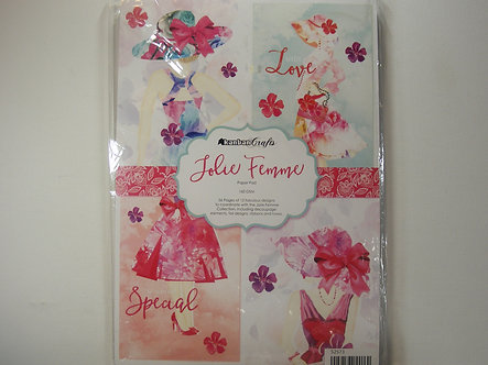 Kanban - Jolie Femme A4 Paper Pad