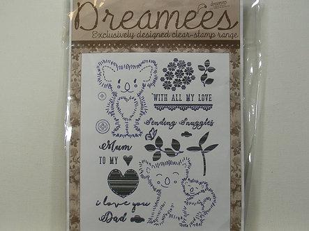 Dreamees - Designer Clear Stamp Set