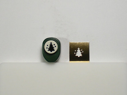 Unbranded Hand Punch - Christmas Tree & Baubles (Used)