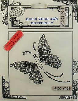 Crafty Roo Designs - Build Your Own Butterfly Acrylic Stamps