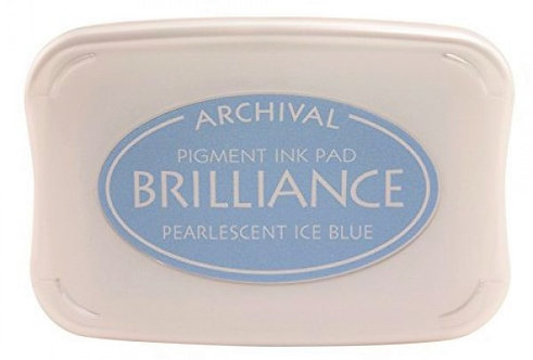 Archival - Pearlescent Ice Blue Ink Pad