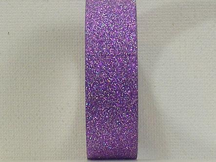 Craft Washi Tape - Purple Glitter.