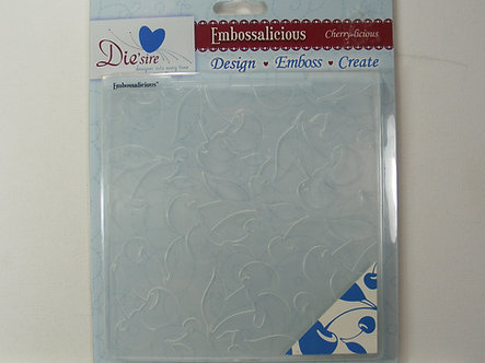 Die'sire  - Cherrylicious Embossing Folder