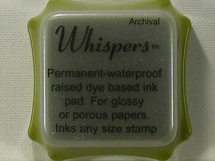 Archival - Whispers Savoy Green Dye Based Ink Pad