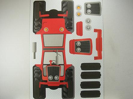 Kanban - Kan-Cars Card Kit - Red Tractor.