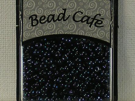 Bead Cafe - Gun Metal 3mm Glass Beads
