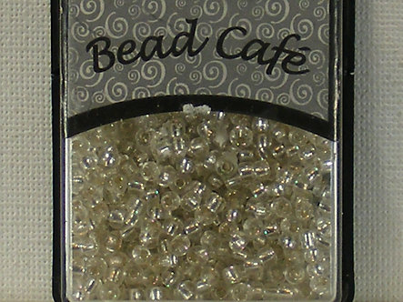 Bead Cafe - Silver 3mm Glass Beads