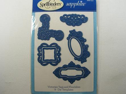 Spellbinders - Sapphire Victorian Tags & Flourishes