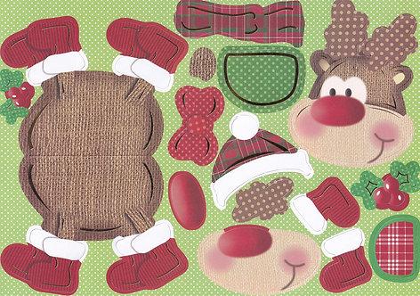 Kanban - Reindeer Wobbler Card Kit