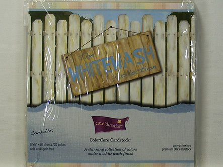 Core'dinations - The Whitewash Collection Colorcore Cardstock