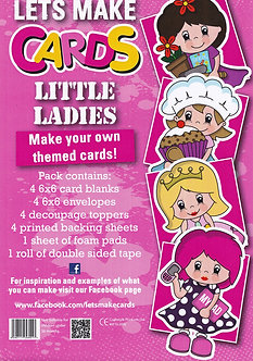 Craftstyle - Lets Make Cards - Little Ladies