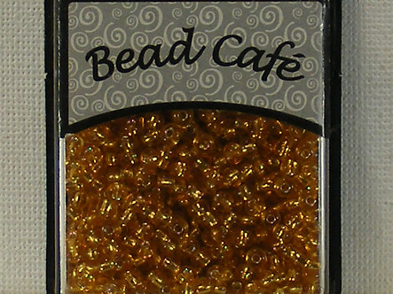Bead Cafe - Gold 3mm Glass Beads