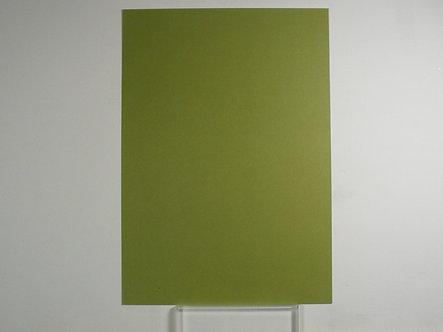 Kanban - A4 Olive Green Plain Cardstock 280gsm.