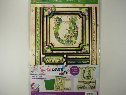 Hunkydory Special Days - Lots Of Luck Luxury Topper Set
