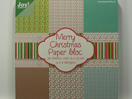 Joy Crafts - Merry Christmas Paper Bloc