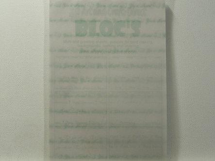 Art & Crafts Direct - Paper Blocs Sentiment Sheets (Vellum)