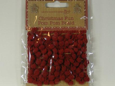 Craftime - Christmas Fun Pom Pom Braid