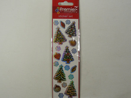 Premier Decorations - Holographic Tree Stickers