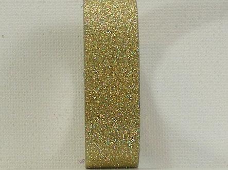 Craft Washi Tape - Gold Glitter.