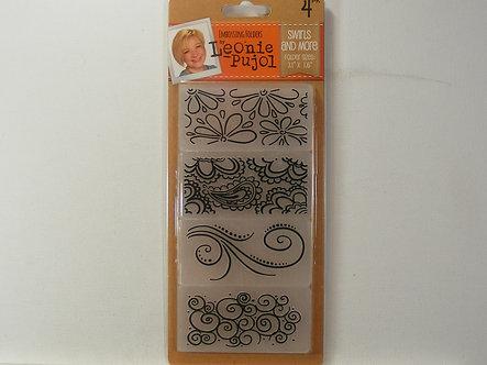 Leonie Pujol - Swirls And More Embossing Folders.