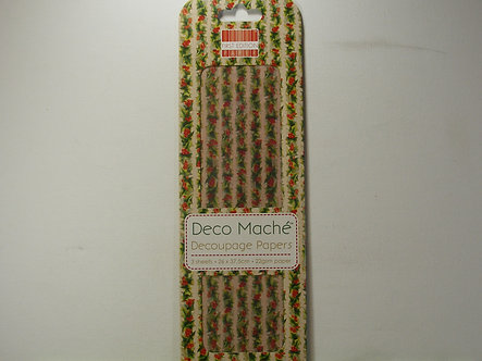 First Edition - Deco Mache Paper - Holly