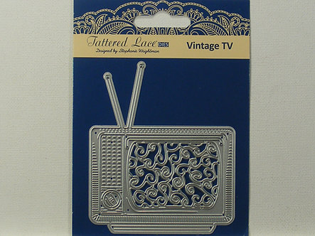 Tattered Lace - Vintage TV Die