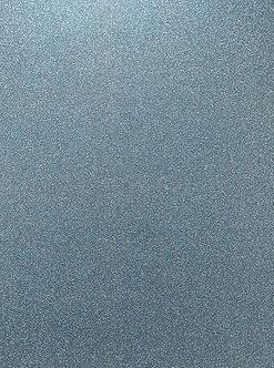 A4 Glitter Card (Non Shed) - Dark Duck Egg 180gsm.
