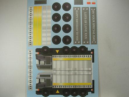 Kanban - Kan-Cars Card Kit - Truck (Yellow).