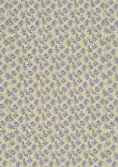 A4 Double-Sided Designer Paper - Floral 2