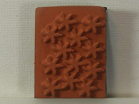 Unbranded - Stars Foam Mounted Rubber Stamp