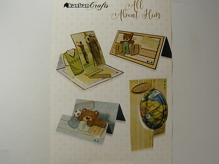 Kanban - All About Him Card Kit