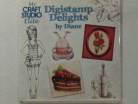 My Craft Studio Elite - Digistamp Delights CDrom.