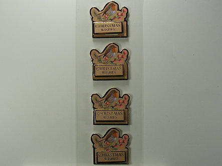 Hobbycraft - Robins Sentiment Decoupage Stickers