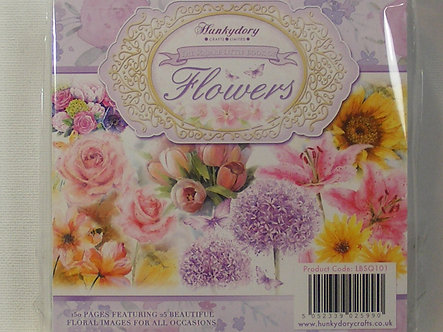 Hunkydory - Little Square Book Of Flowers