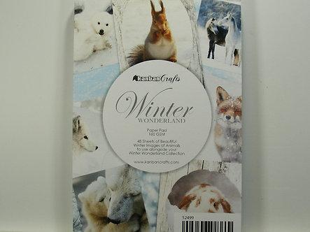 Kanban - Winter Wonderland A6 Pad