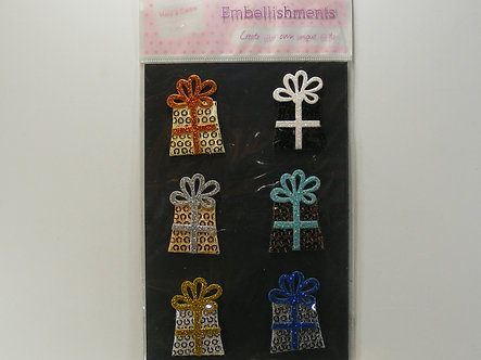 Make & Create Embellishments - Presents.