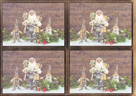 Kanban - Santa & Friends Topper Sheet