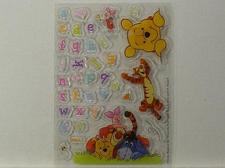 Disney - Winnie The Pooh Alphabet Stamps