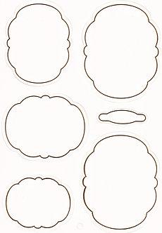 Kanban - White & Gold Cloud Frames