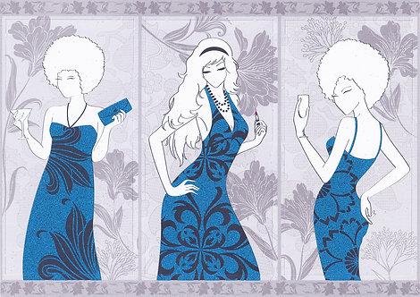 Kanban - Glitter Ladies Topper Sheet