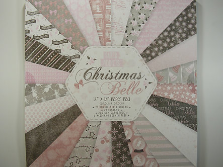 "Paper Addicts - Christmas Belle 12"" x 12"" Paper Pad"
