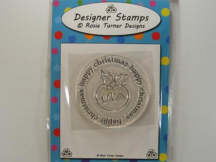 Rosie Turner - Happy Christmas Stamp